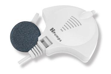 HPumps Nano Piezo Luftpumpe, Manta weiß 18l/h, Durchlüfterpumpe – Bild 1