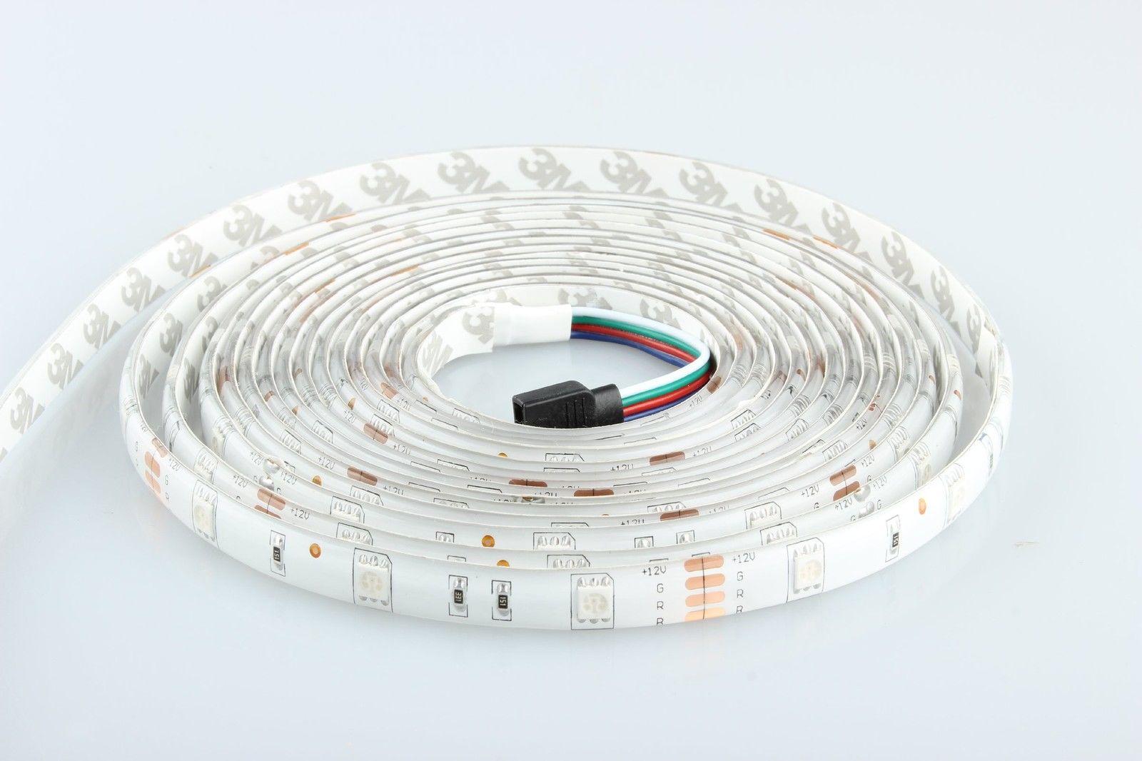 ninetec flash30 5m led strip band mit 30 hochleistungs led. Black Bedroom Furniture Sets. Home Design Ideas