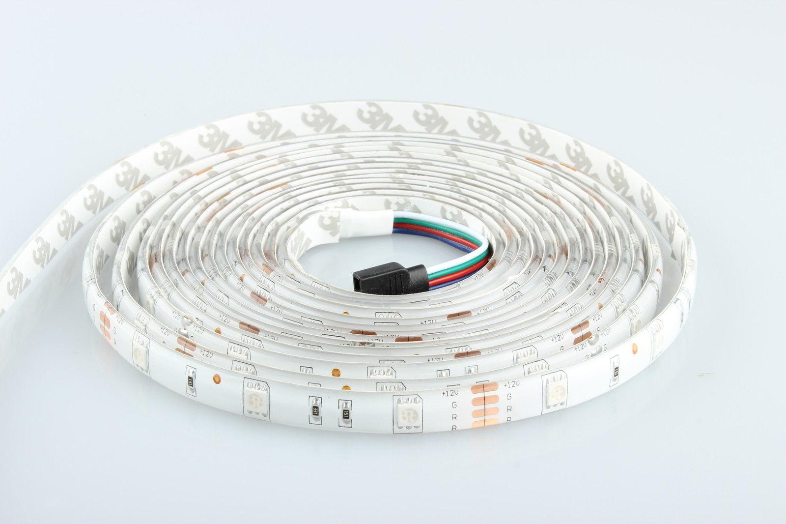 ninetec flash30 5m led band strip e kette schlauch licht wasserdicht ebay. Black Bedroom Furniture Sets. Home Design Ideas