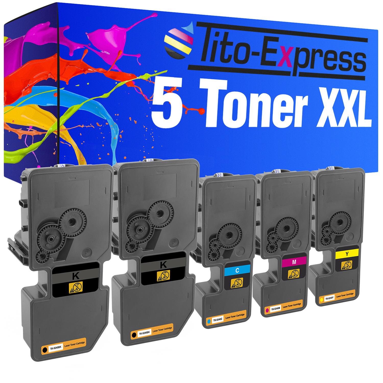 5x Europcart Toner für Kyocera Ecosys M-5526-cdn