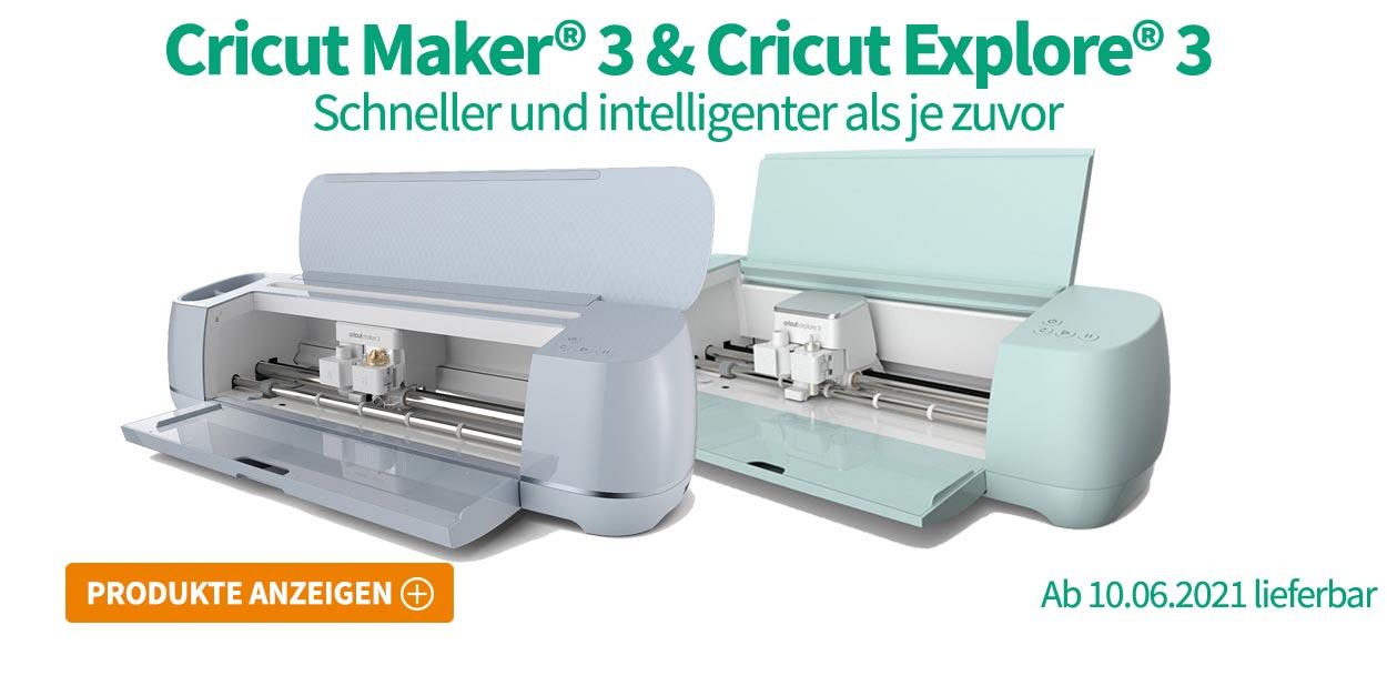Cricut Maker 3 & Cricut Explore 3