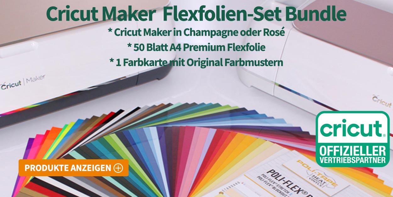 Cricut Maker Flexfolien
