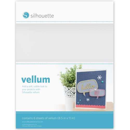 Silhouette Pergamentpapier MEDIA-VELLUM