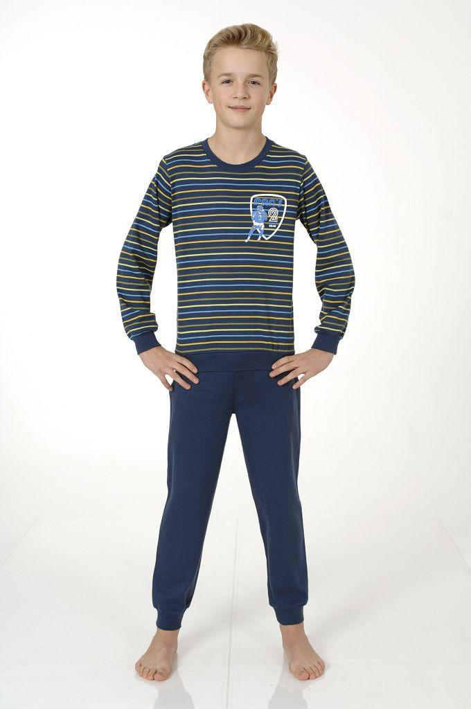 Jungen Interlock Pyjama mit Bündchen, 401 96 740