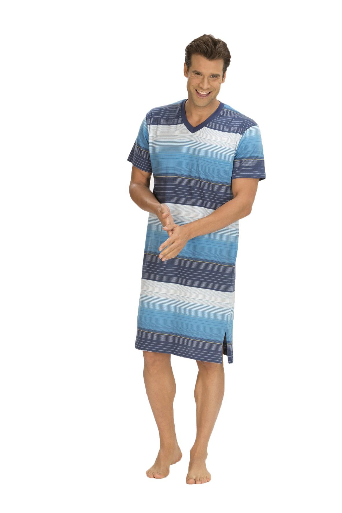 Herren Nachthemd, 1/2-Arm, 151 110 90 724 001