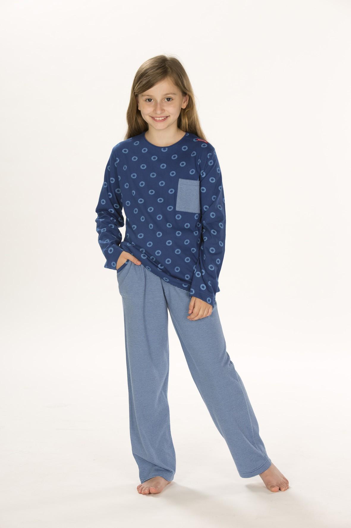Mädchen Schlafanzug Pyjama, langarm, 151 401 90 784 001