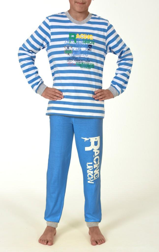 Jungen Pyjama Schlafanzug, langarm, 151 501 90 508 – Bild 2