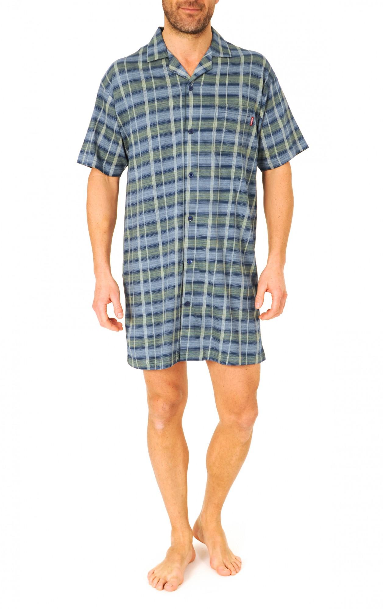 Herren Pflegenachthemd kurzarm, 53045