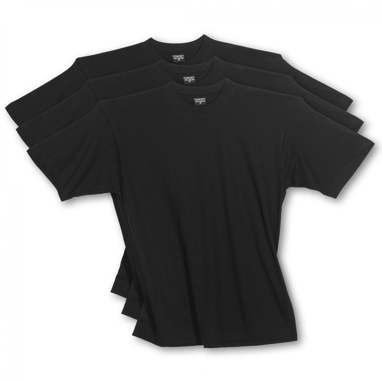 Herren T-Shirts 3erpack schwarz,  Rundhals, (auch in Übergrössen erhältlich) 1303 – Bild 1