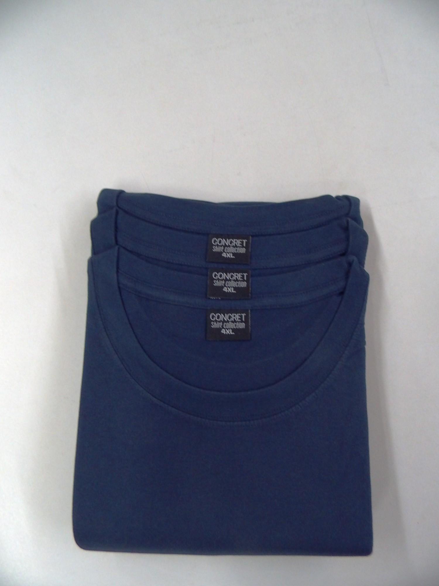 Herren T-Shirts 3erpack navy,  Rundhals, (auch in Übergrössen erhältlich) 1311