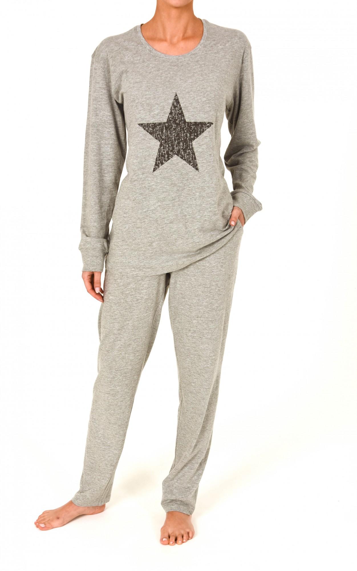 Pyjama langarm, auch als Loungewear, Homewear oder Hausanzug, 251 201 90 590 001