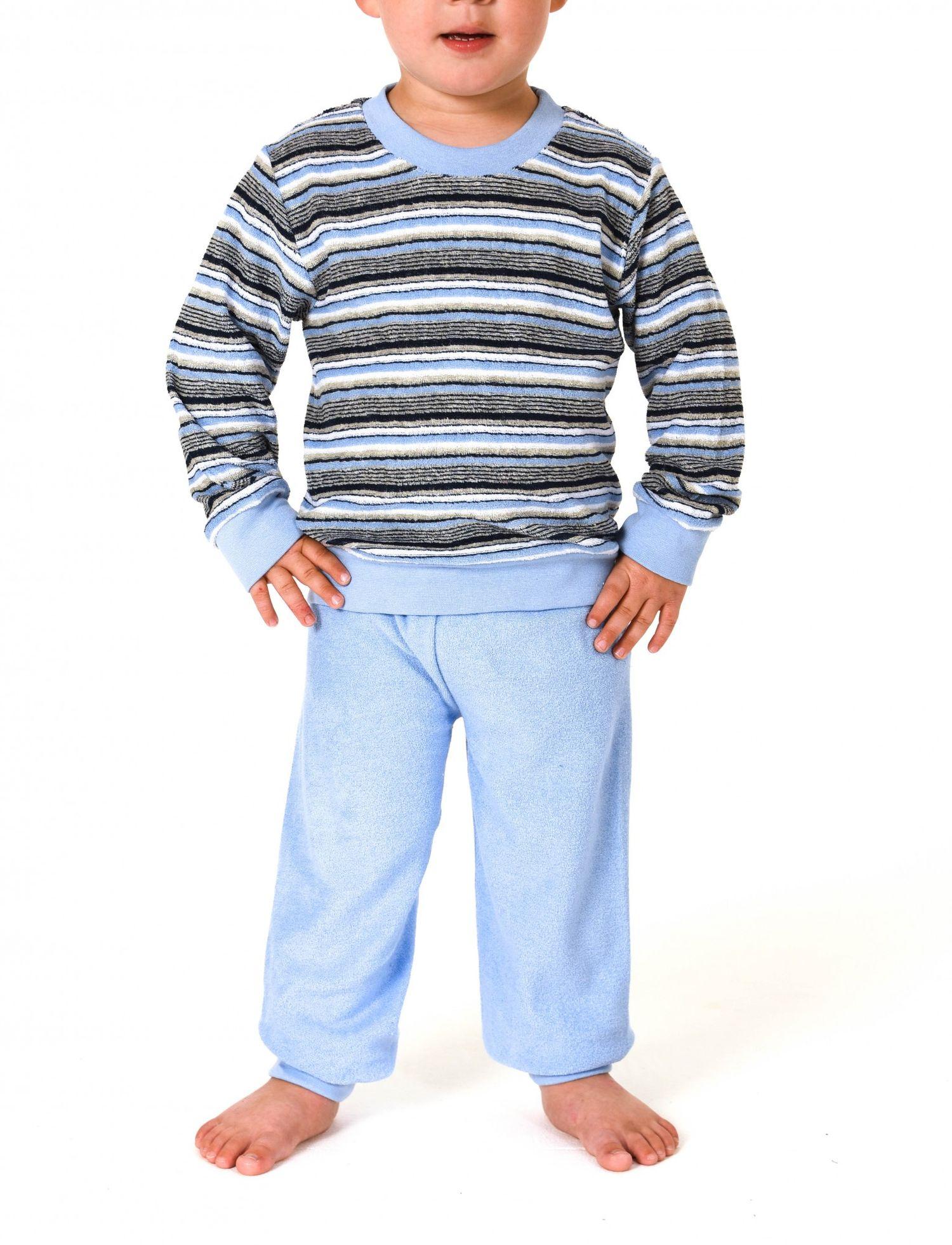 Mädchen Frottee Pyjama lang mit Bündchen – Grössen 86 – 110 -   251 701 93 045 – Bild 2