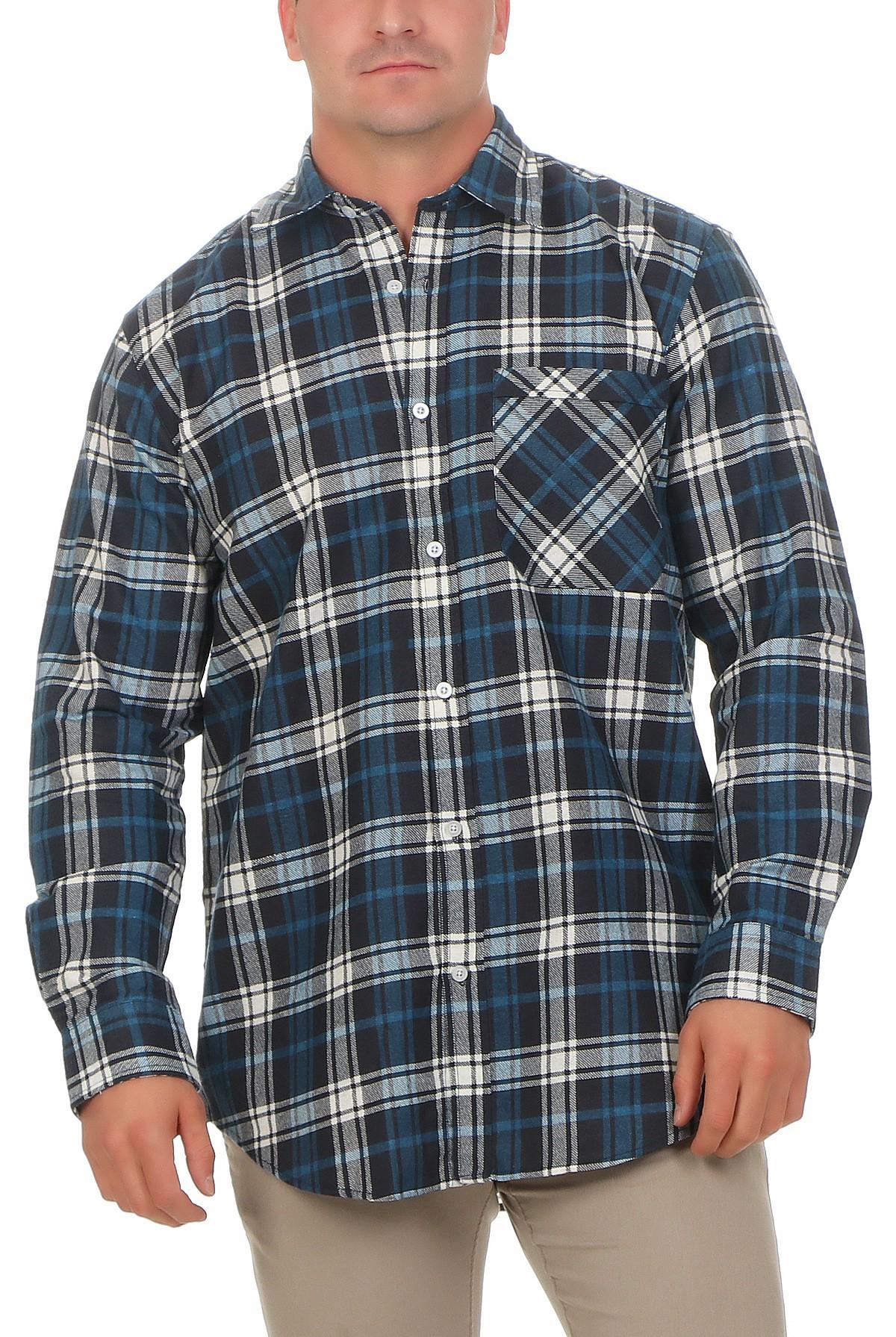 3 Arbeitshemden in Holzfällerkaro-Optik - 85 cm Rückenlänge – Bild 9