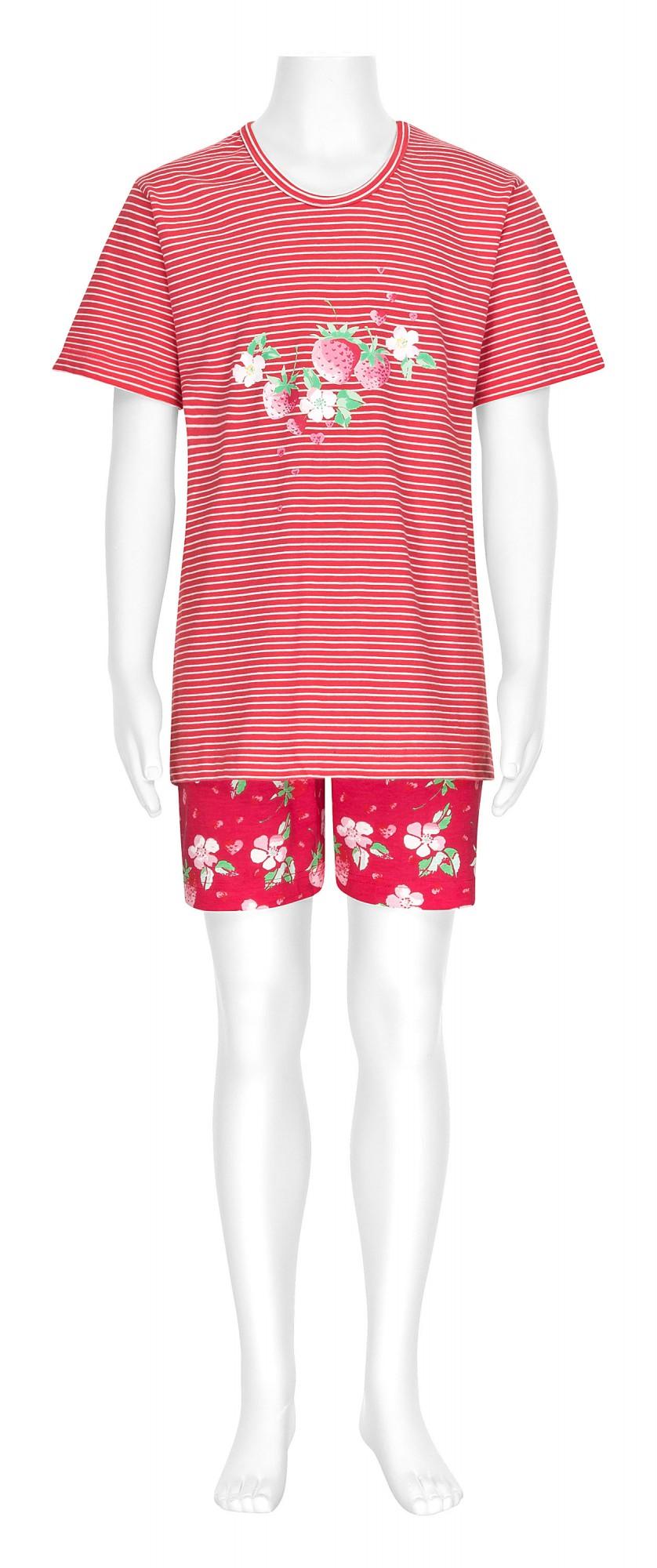Cooler Mädchen Pyjama kurzarm gestreift – 161 405 90 838 – Bild 2