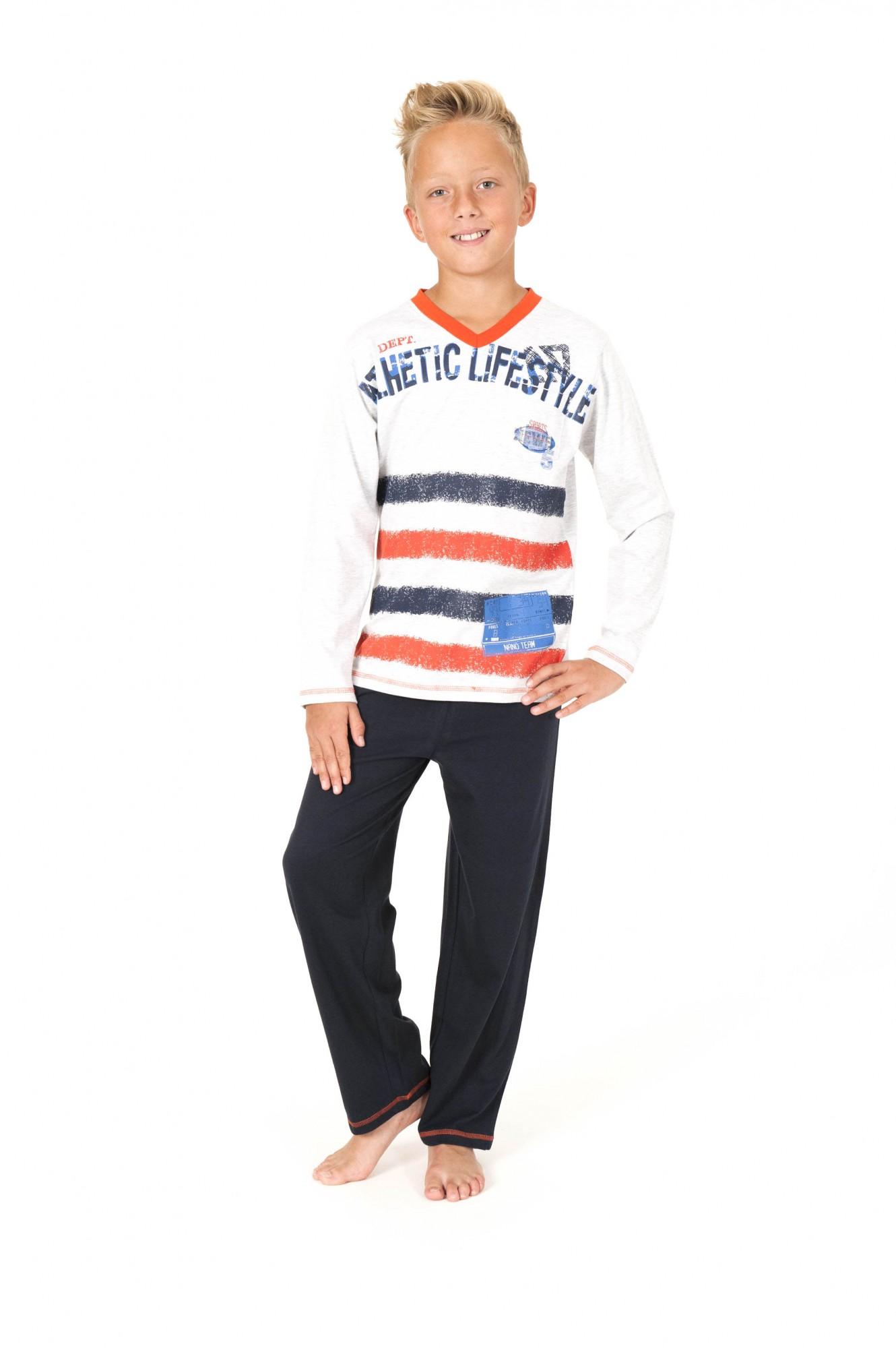 Jungen Pyjama langarm – 161 501 90 558 – Bild 1