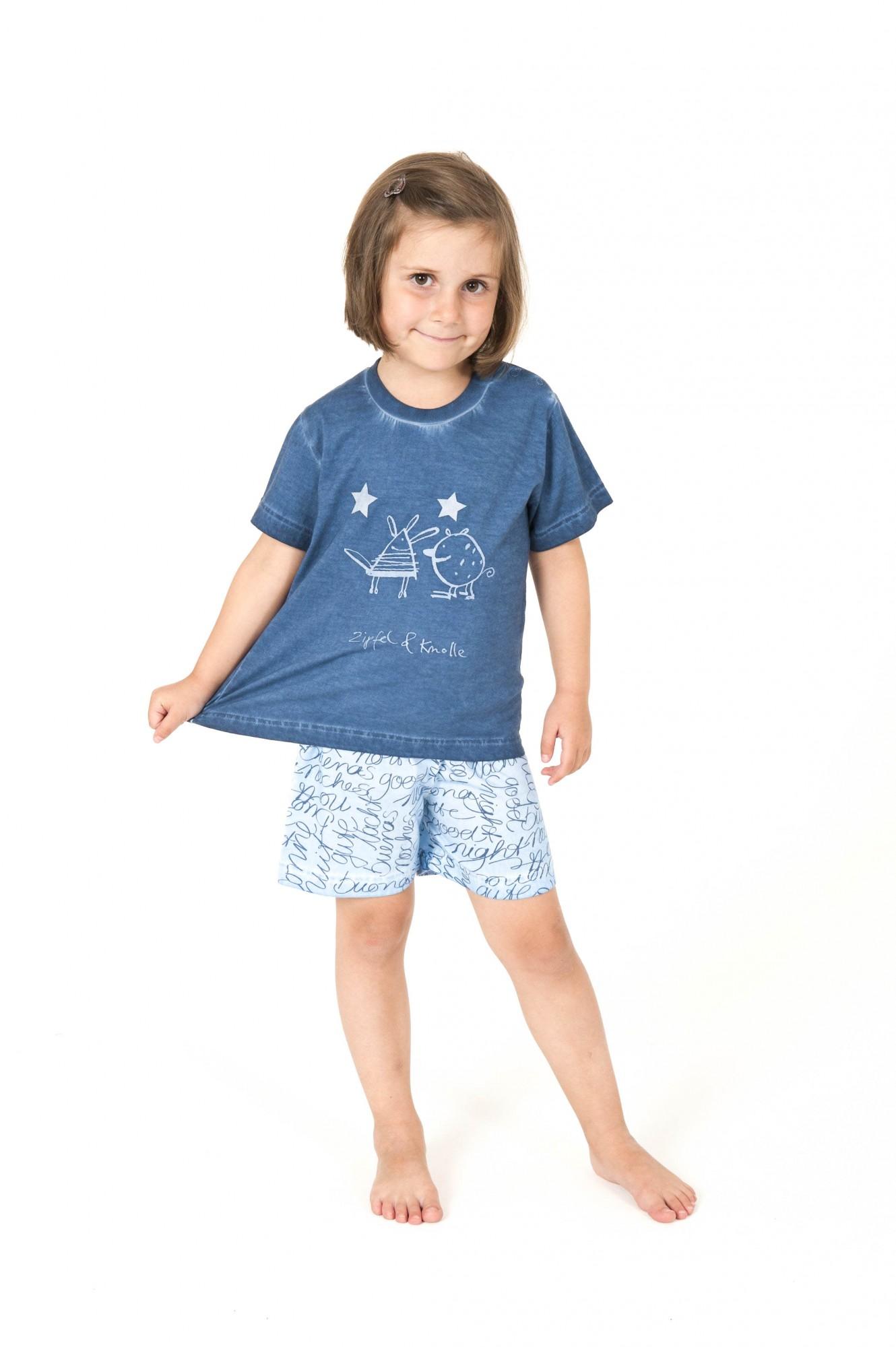 Cooler Mädchen Kleinkinder Pyjama Shorty kurzarm – 161 705 90 840 – Bild 1