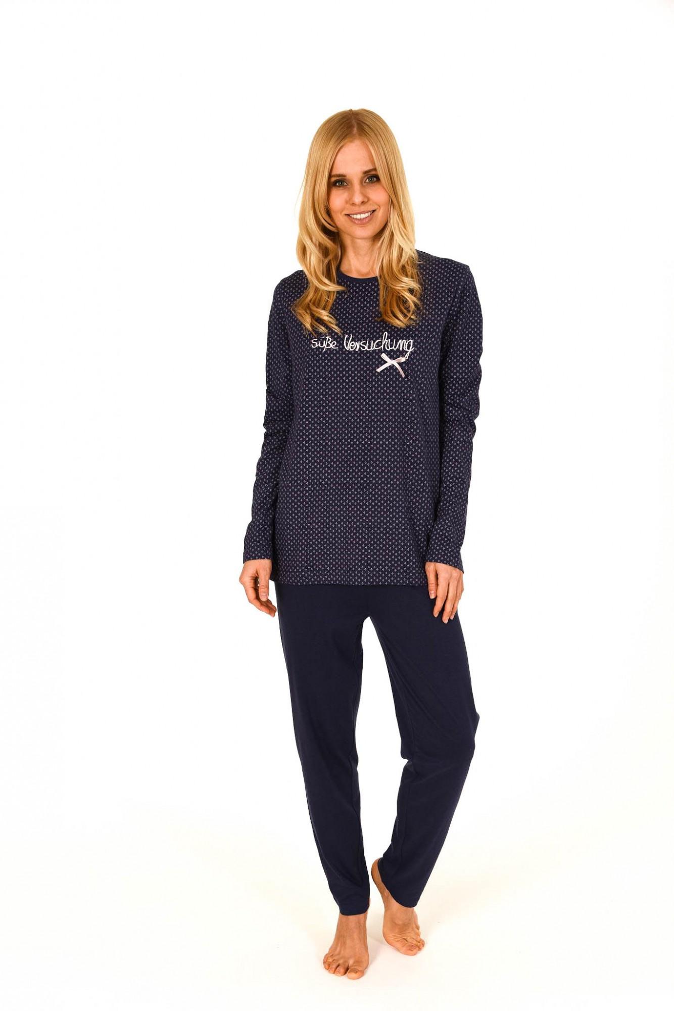 Süsser Damen Pyjama Schlafanzug  lang – 261 201 90 151