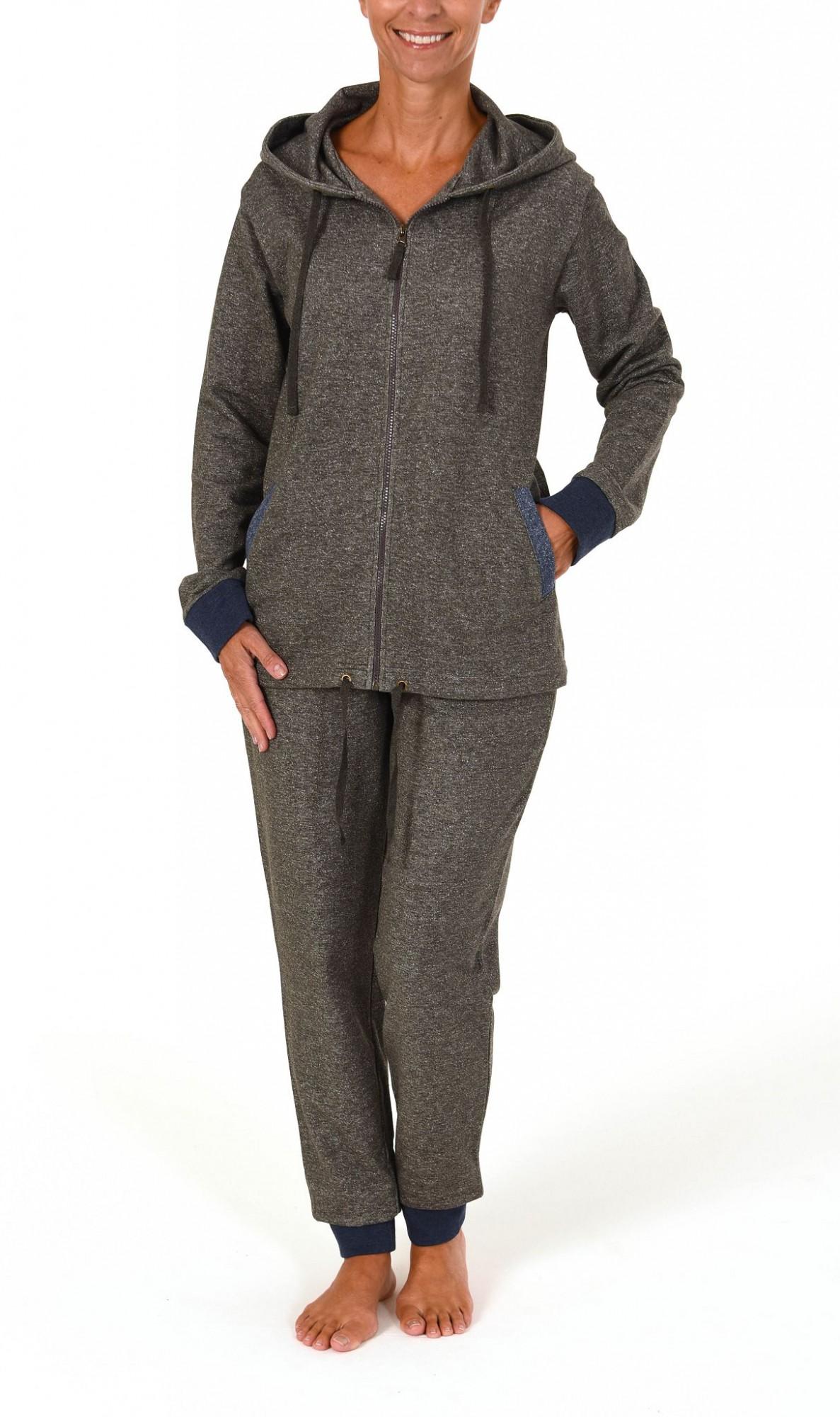 Damen Loungewear Hausanzug aus French Terry – 261 216 99 444 – Bild 2