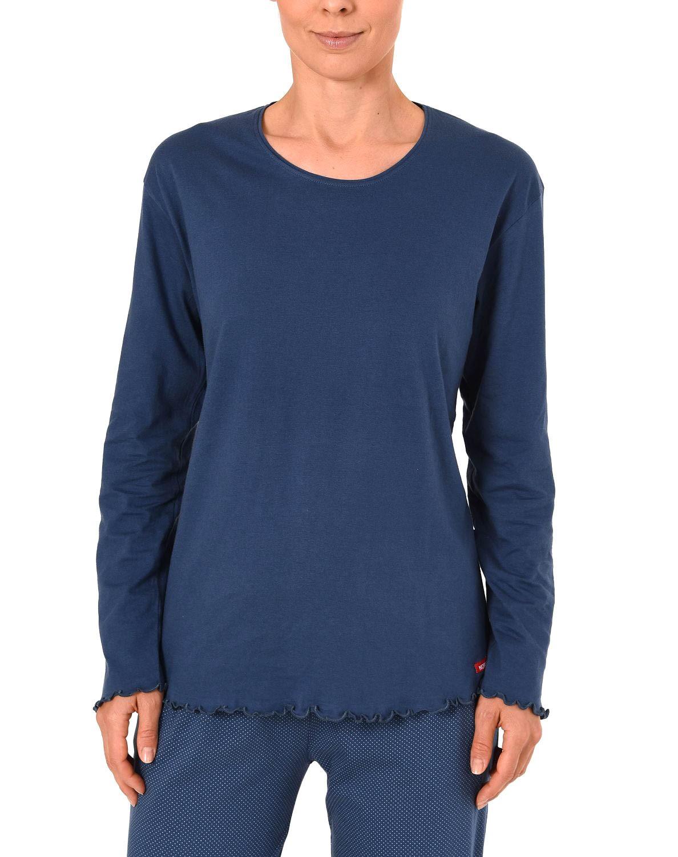 size 40 73969 3f650 Damen Shirt - Oberteil langarm Mix & Match blau, rot oder creme – 261 219  90 103