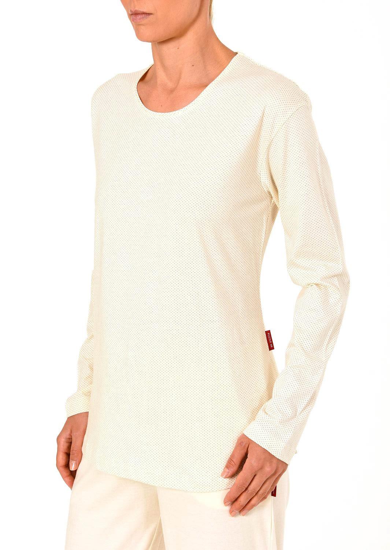 Damen Shirt - Oberteil langarm Mix & Match minimal Print Tupfen – 261 219 90 104 – Bild 7