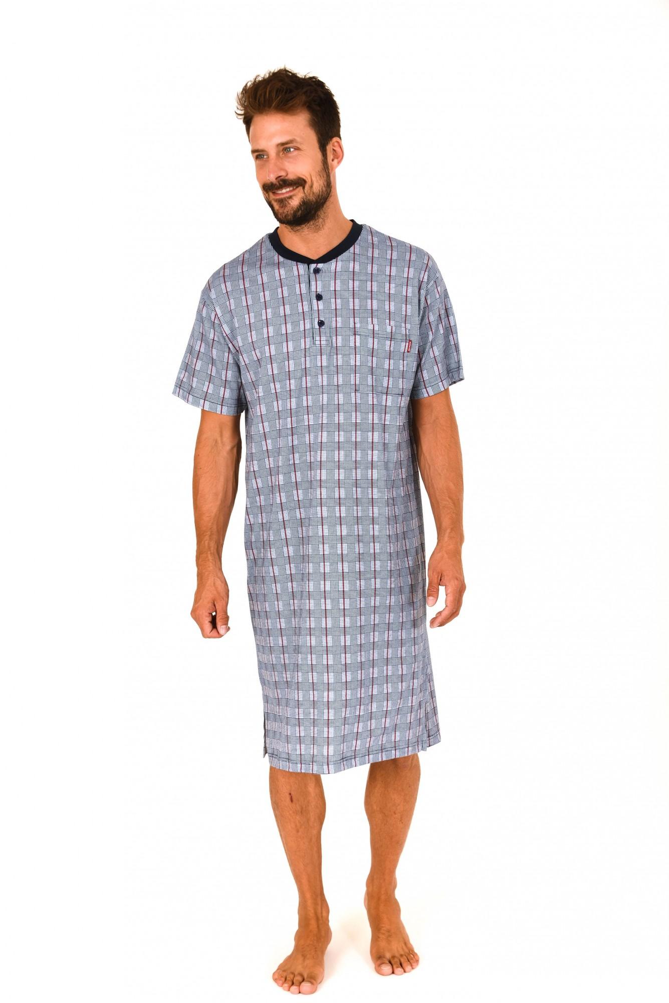hot sale online bb910 54851 Herren Nachthemd kurzarm mit Knopfleiste am Hals – 171 110 ...