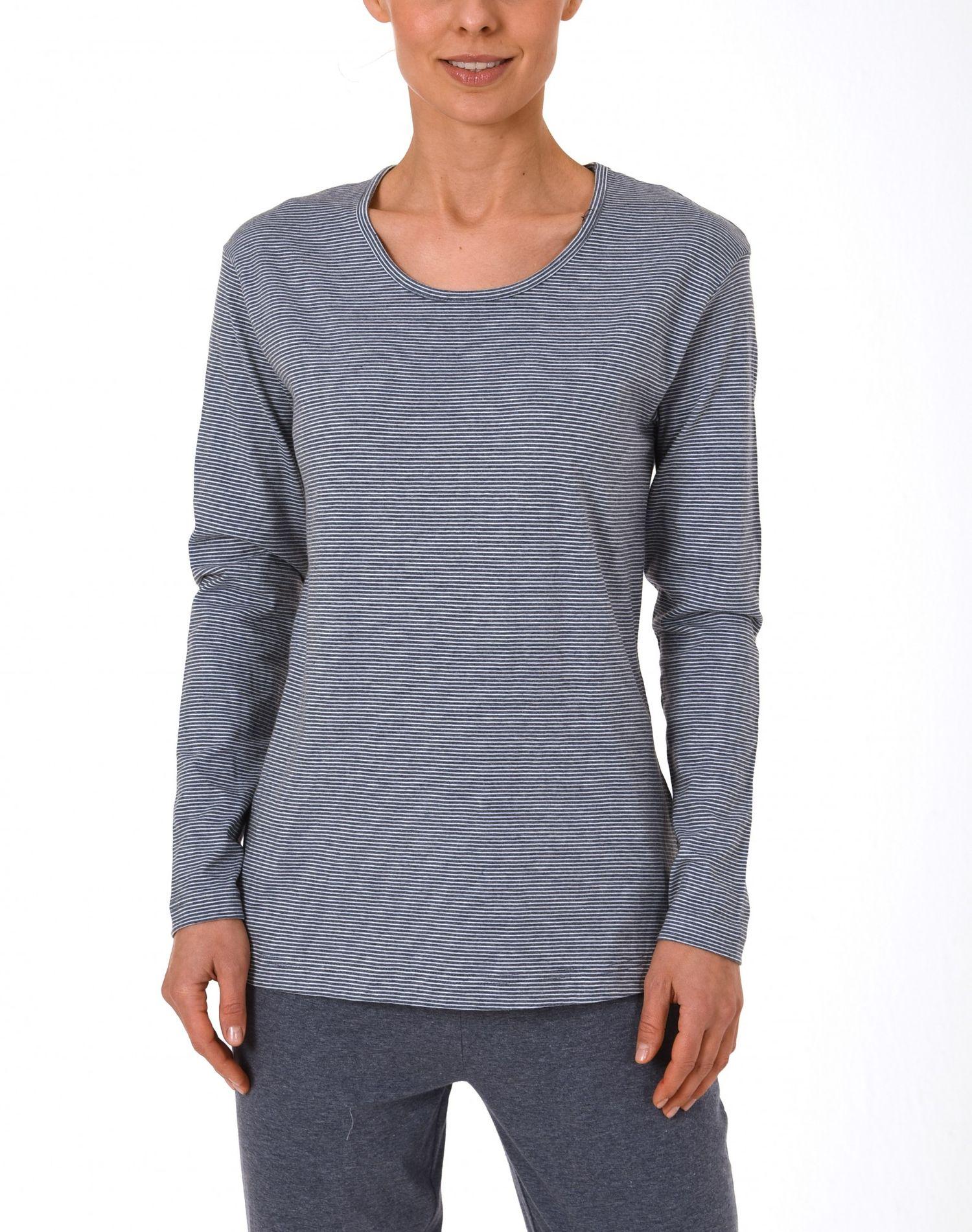 Damen Shirt  Oberteil - langarm Mix & Match Streifendesign – 171 219 90 903 – Bild 1
