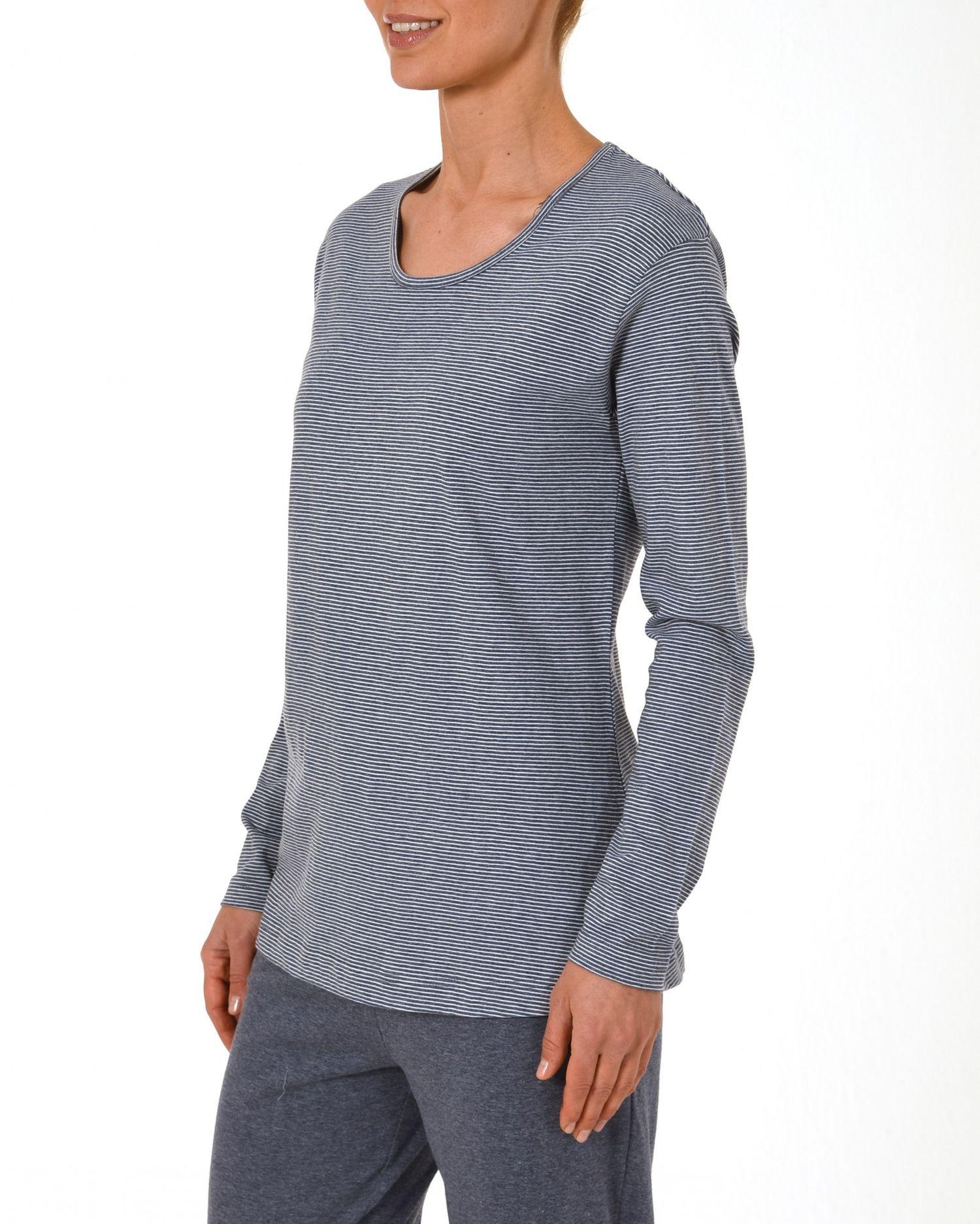 Damen Shirt  Oberteil - langarm Mix & Match Streifendesign – 171 219 90 903 – Bild 2