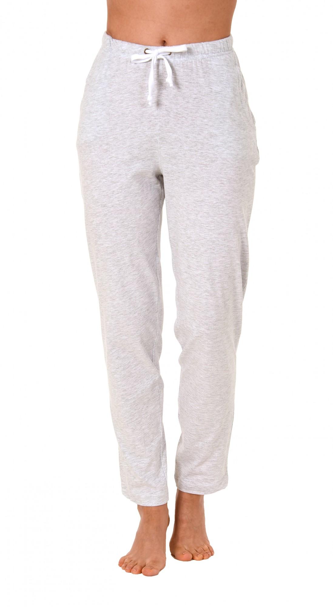 Damen Pyjama Hose lang- Mix & Match – unifarben- ideal zum kombinieren  222 90 902 – Bild 2