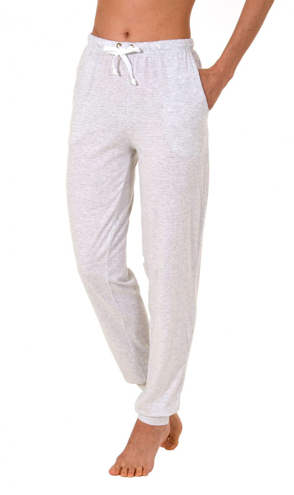 Damen Pyjama Hose lang- Mix & Match – gestreift- ideal zum kombinieren  222 90 903