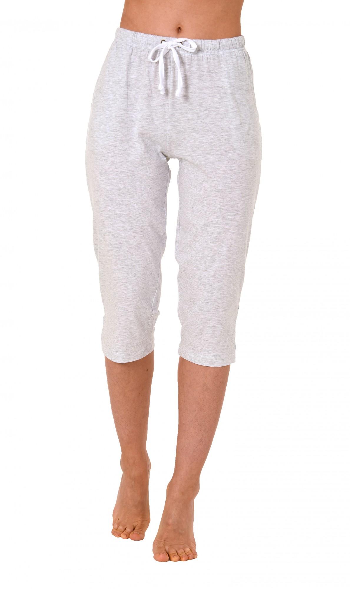 Damen Pyjama Capri Hose 3/4-lang - Mix & Match - ideal zum kombinieren  223 90 902 – Bild 2