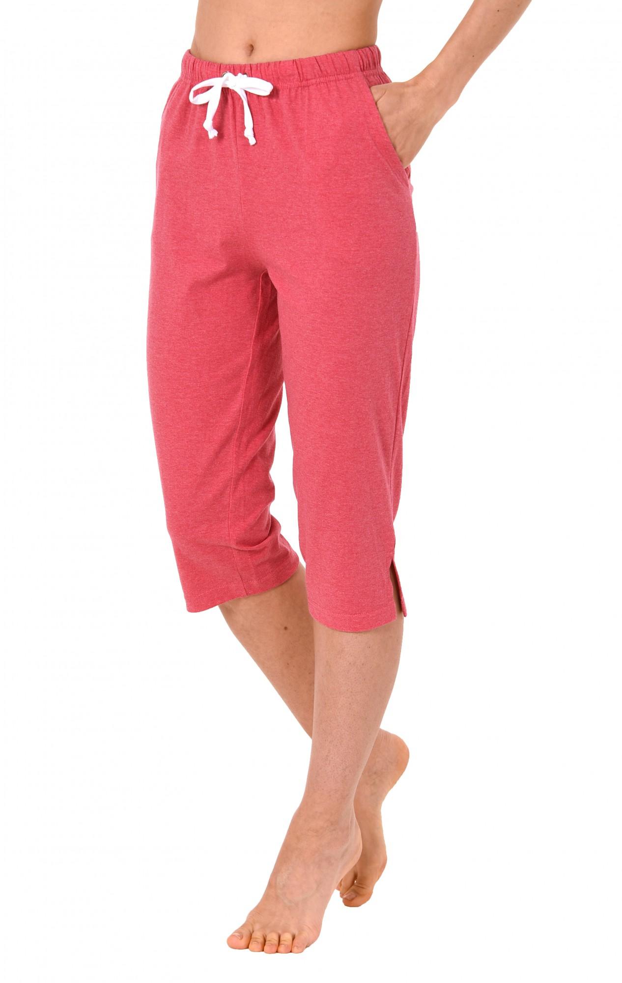Damen Pyjama Capri Hose 3/4-lang - Mix & Match - ideal zum kombinieren  223 90 902 – Bild 1