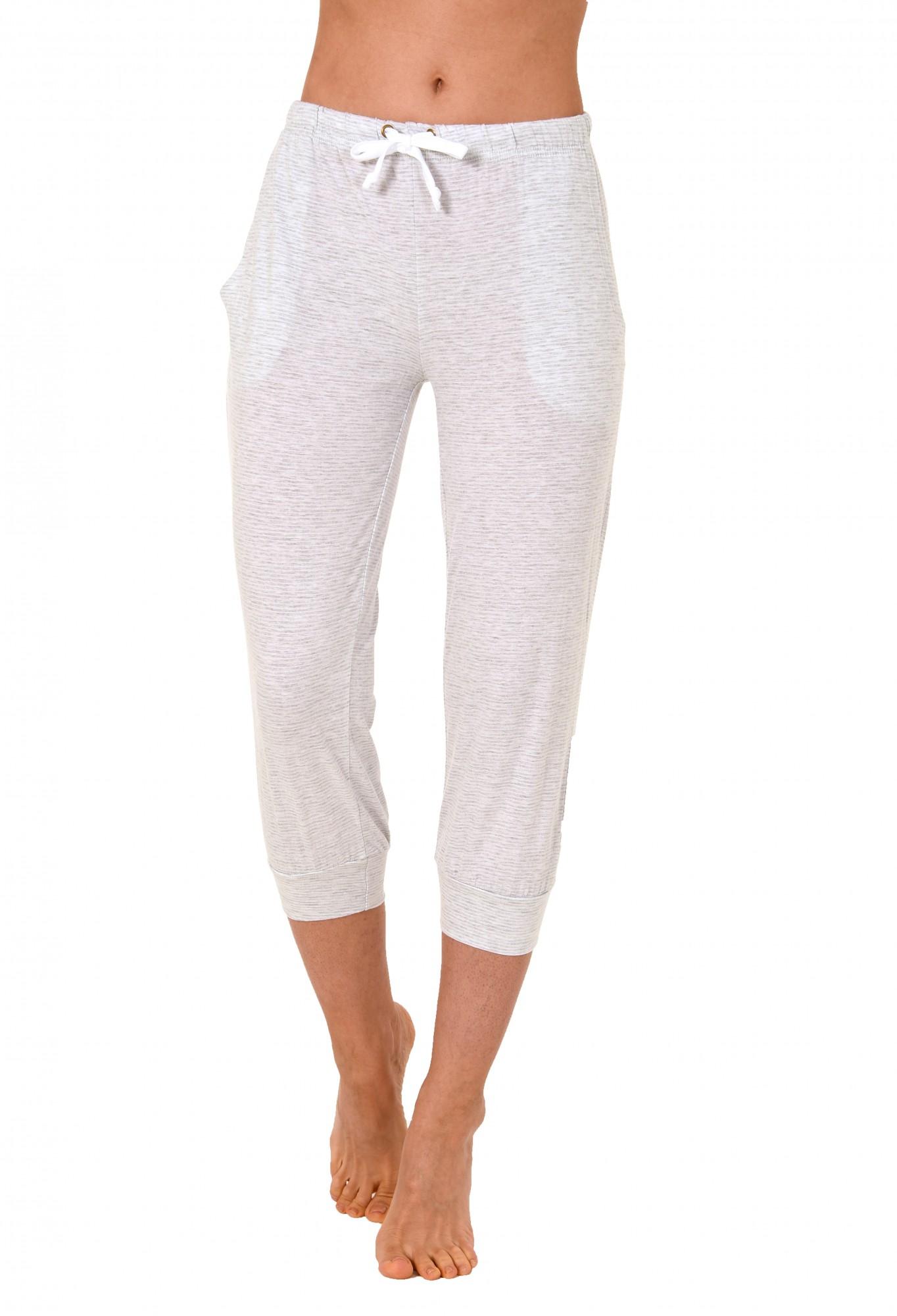 Damen Pyjama Capri Hose 3/4-lang - Mix & Match - ideal zum kombinieren  223 90 903 – Bild 2