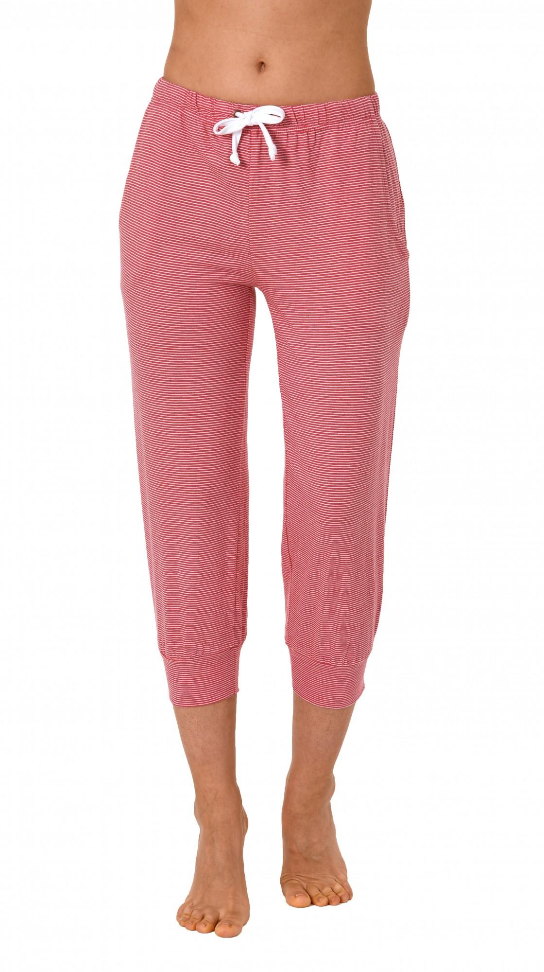 Damen Pyjama Capri Hose 3/4-lang - Mix & Match - ideal zum kombinieren  223 90 903 – Bild 3