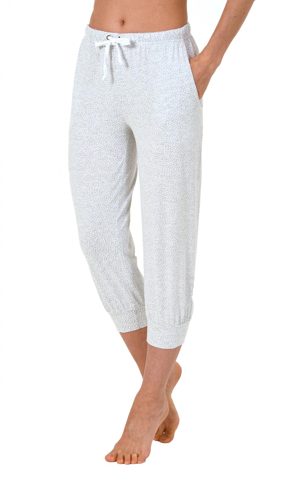 Damen Pyjama Capri Hose 3/4-lang - Mix & Match - ideal zum kombinieren  223 90 904 – Bild 4