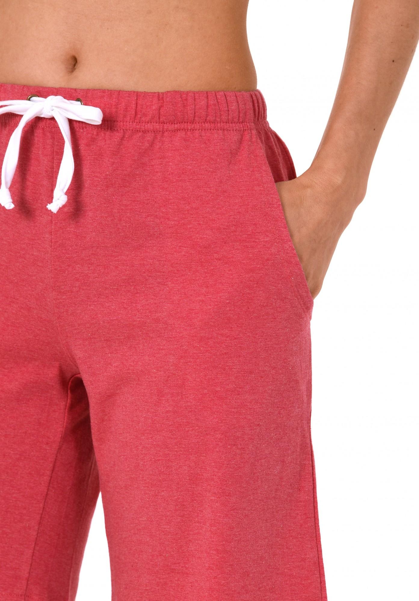 Damen Pyjama Bermuda kurze Hose  - Mix & Match - ideal zum kombinieren  224 90 902 – Bild 4