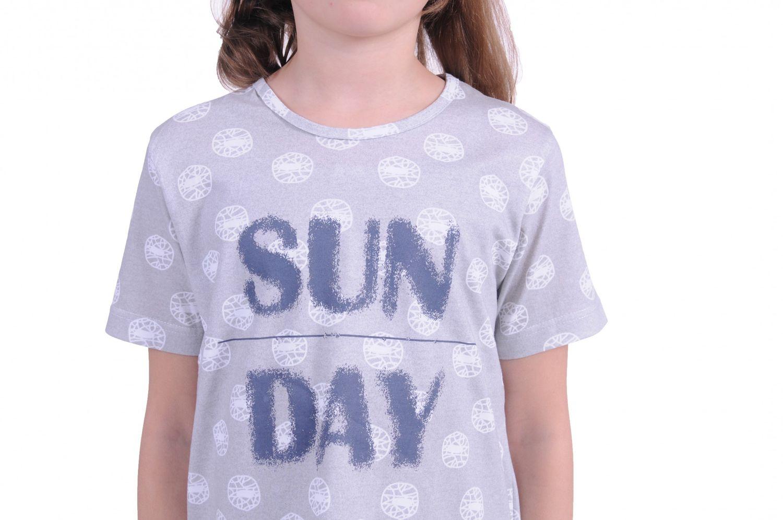 Mädchen Kinder Nachthemd kurzarm 171 410 90 879 – Bild 3