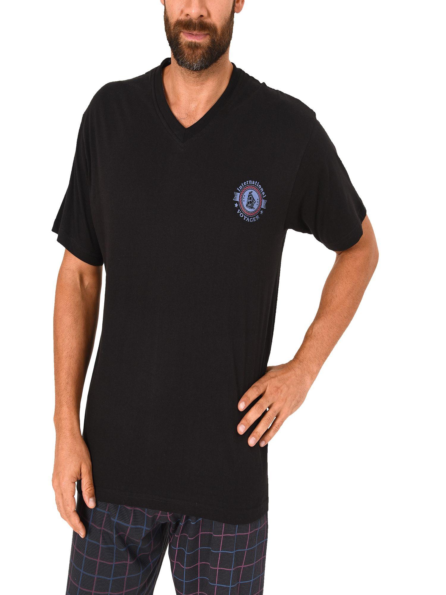 Herren Shirt - Oberteil kurzarm Mix & Match marine oder schwarz – 271 120 90 522 – Bild 2