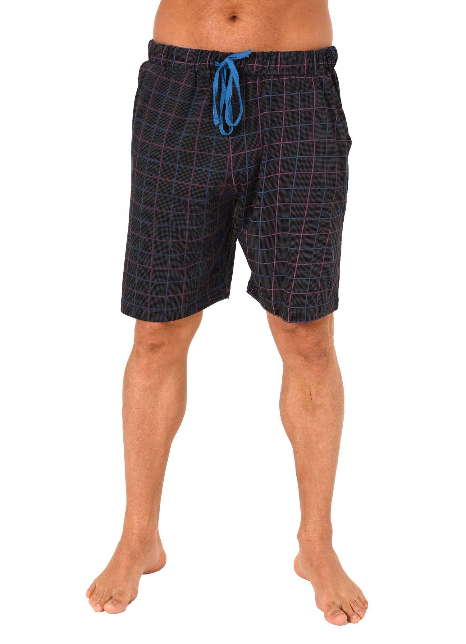 Herren Pyjama Hose kurz – Mix & Match – Karo Optik – 124 90 524 – Bild 2