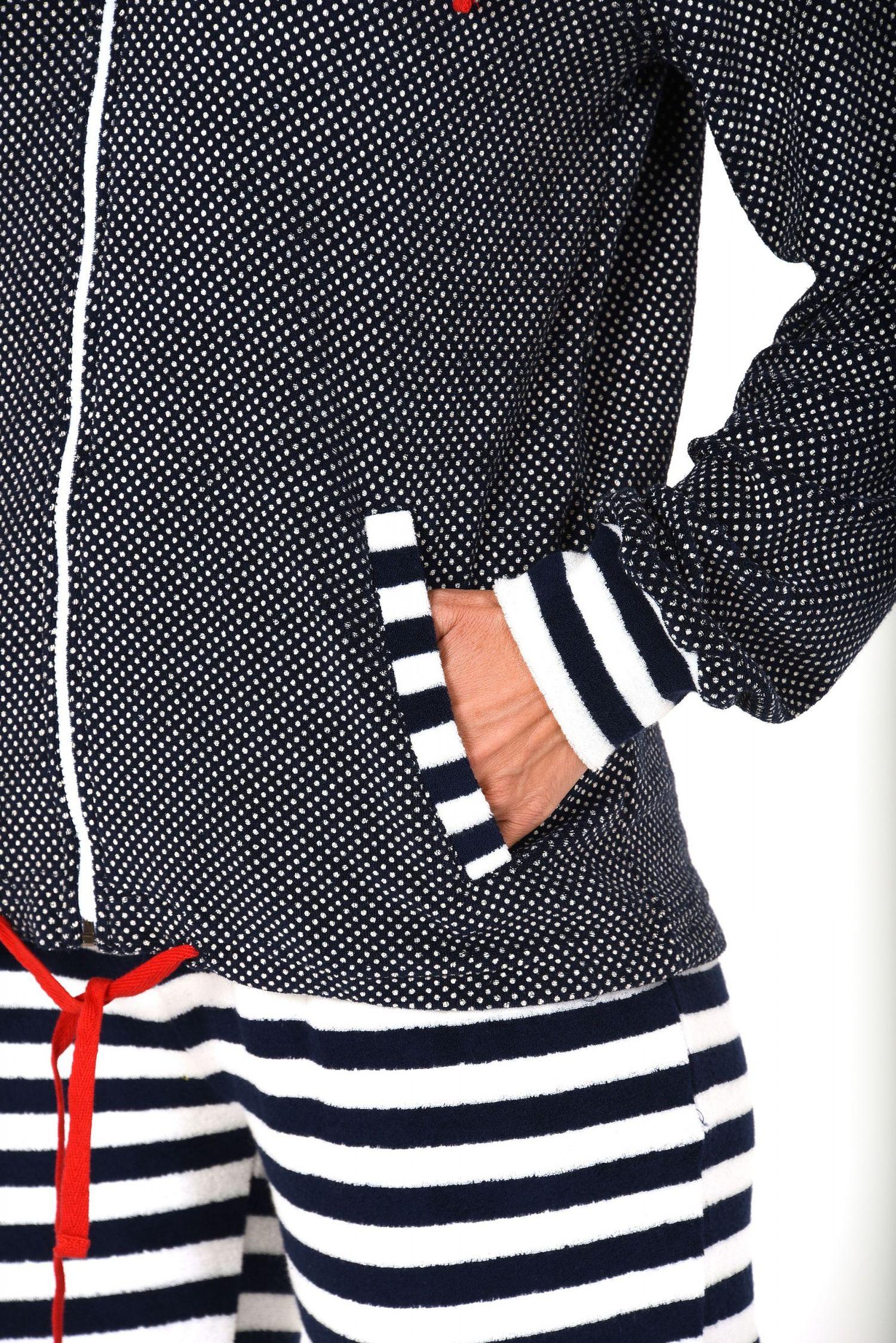 Damen Frottee Hausanzug – ideal auch als Homewear – auch in Übergrössen – 271 216 93 200 – Bild 4