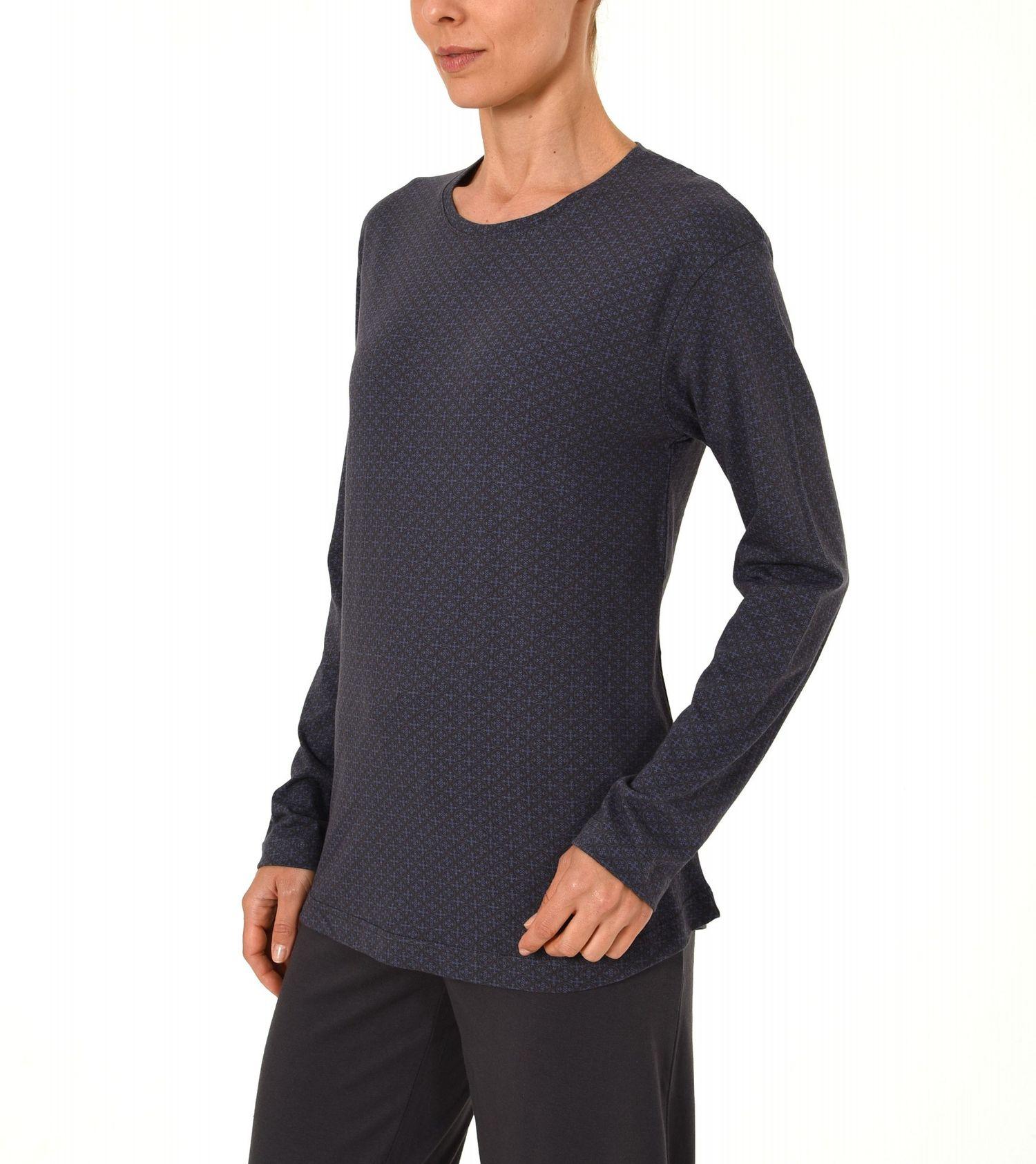 Damen Shirt - Oberteil langarm Mix & Match minimal Print  – 271 219 90 104 – Bild 5