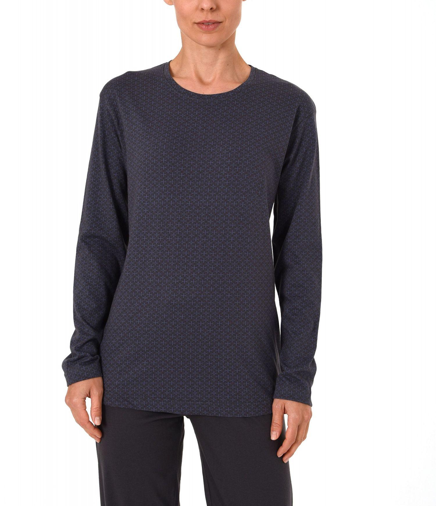 Damen Shirt - Oberteil langarm Mix & Match minimal Print  – 271 219 90 104 – Bild 4