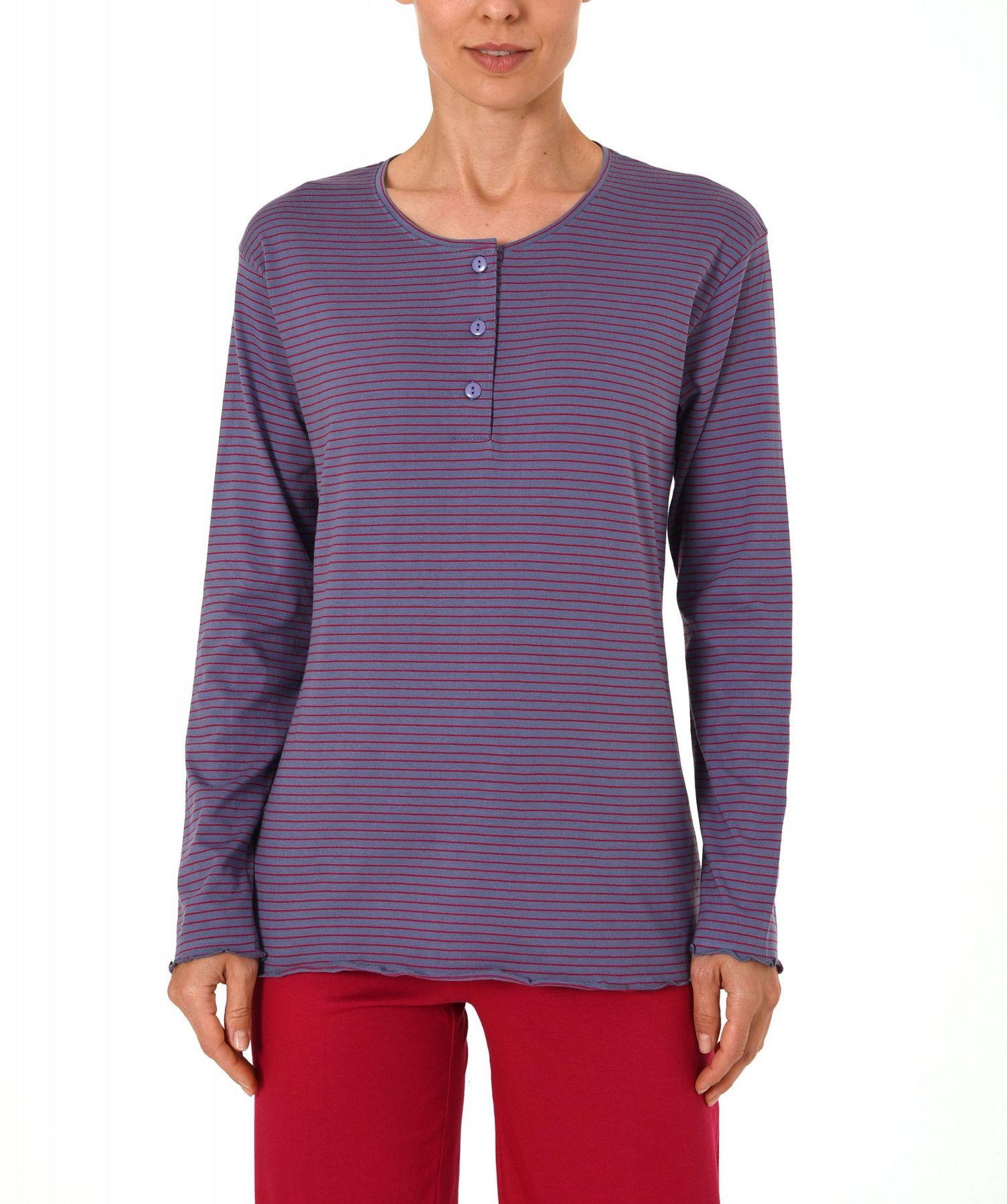 Damen Shirt - Oberteil langarm Mix & Match in toller Streifenoptik – 271 219 90 105 – Bild 4