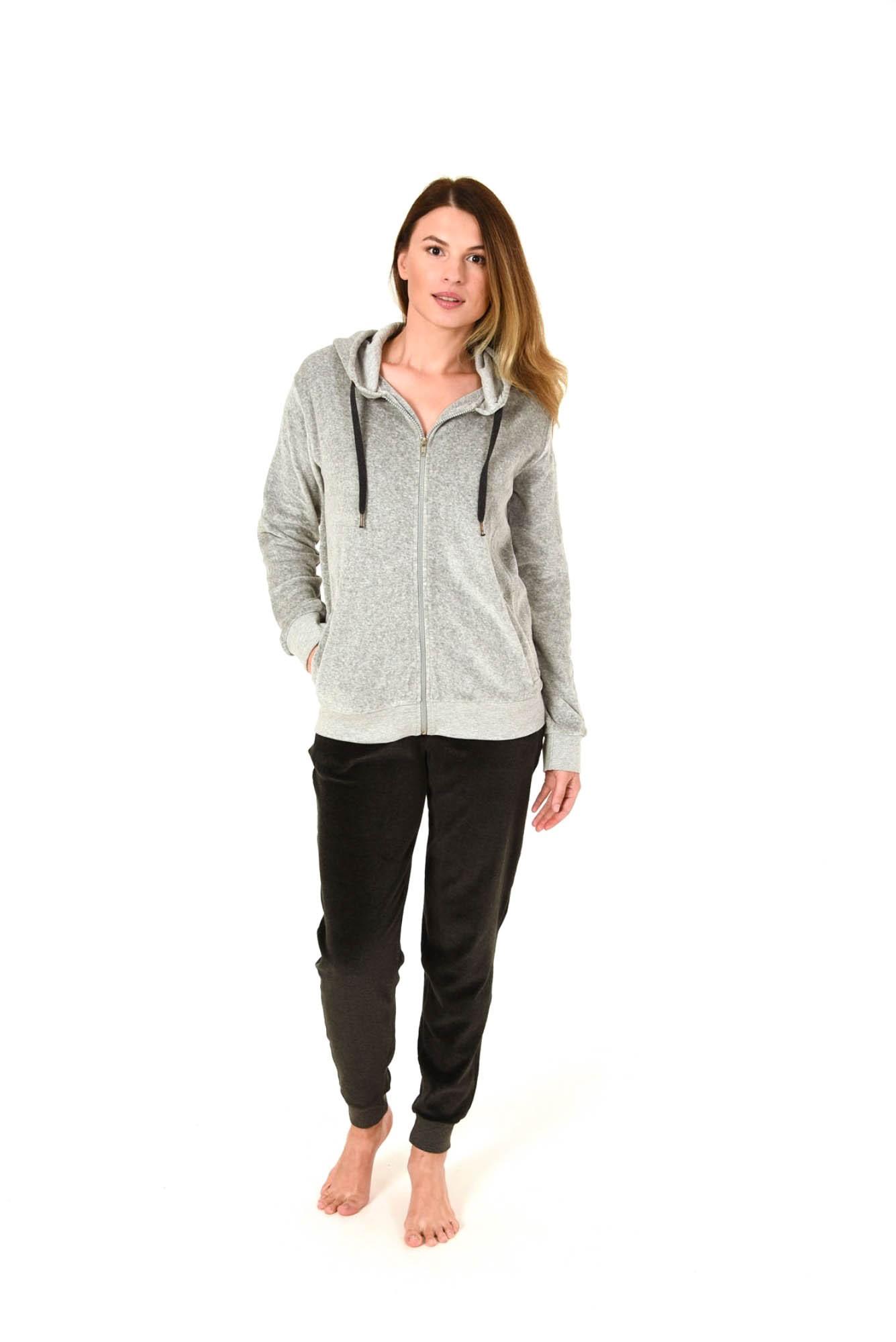 Damen Hausanzug Homewear Freizeitanzug Loungewear Nicky Velvet - 281 216 98 005 – Bild 2