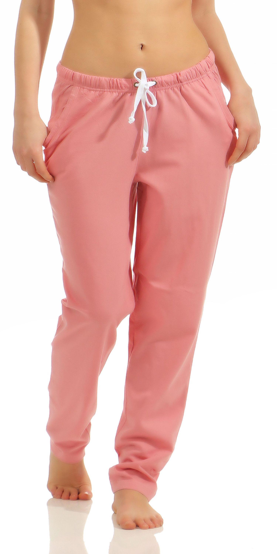 Damen Pyjama Hose lang- Mix & Match – unifarben- ideal zum kombinieren  222 90 902 – Bild 7