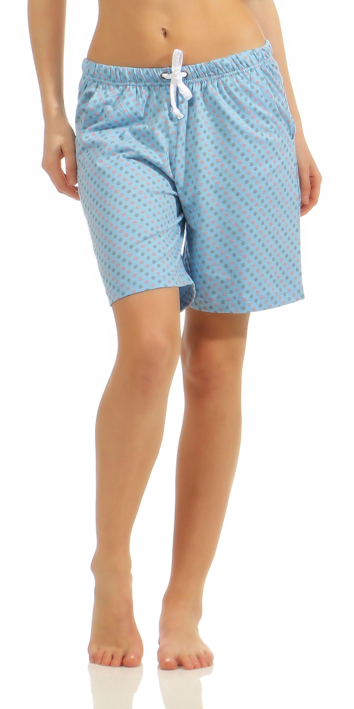 57ca25606e Damen Bermuda Pyjamahose kurz Tupfen Mix & Match ideal zum kombinieren  181 224 90 904