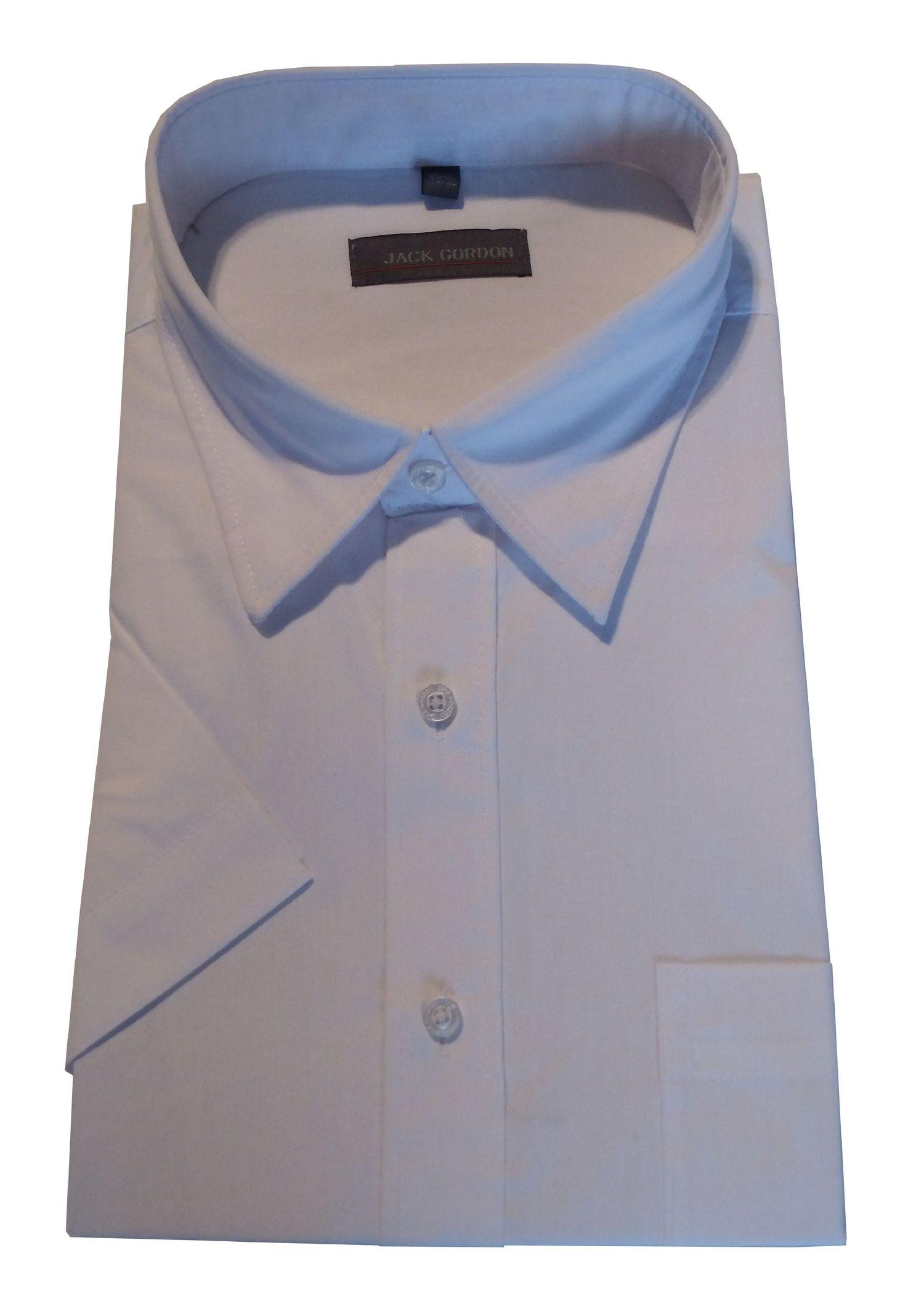 Herren Hemd Kurzarm weiß - in Übergröße 3XL bis 6XL, 7980 – Bild 1