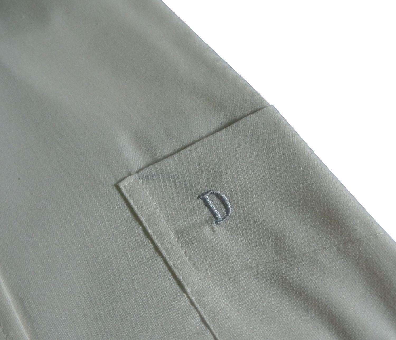 Herren Hemd langarm schwarz - in Größe S bis 6XL, 2000 – Bild 3