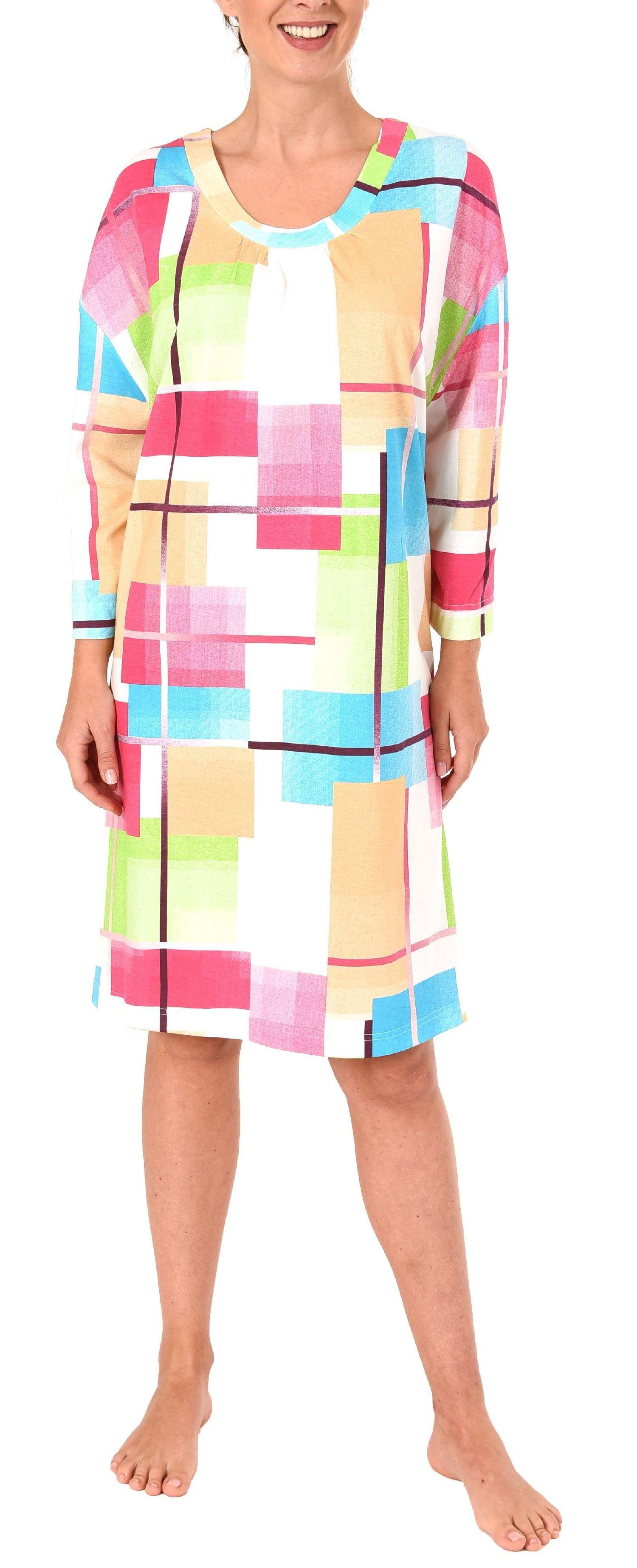 hot sale online b09a5 d152f Schönes Nachthemd für Damen, Bigshirt kurzarm in Übergrößen ...