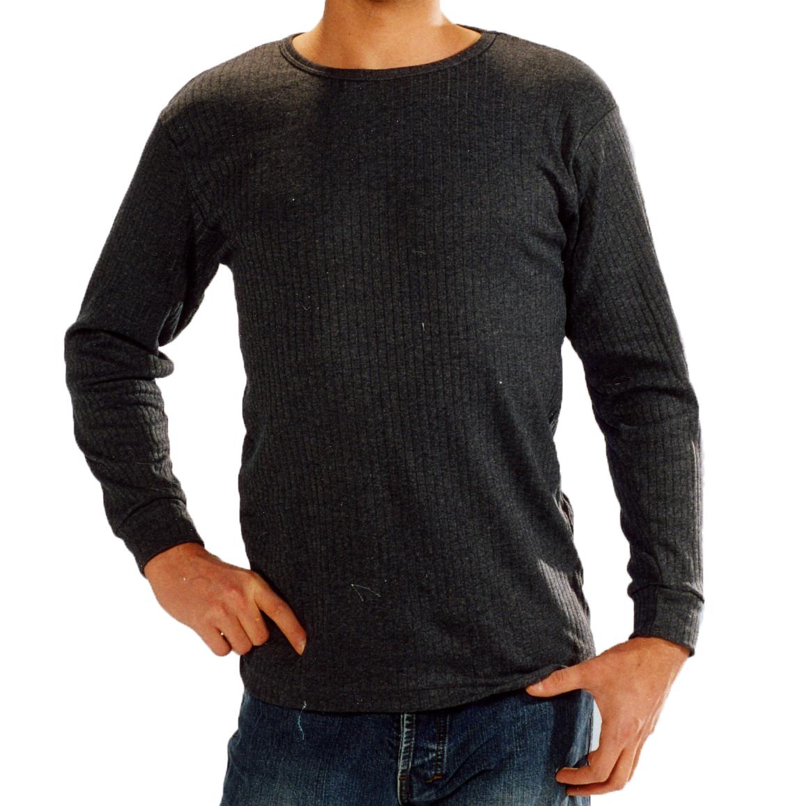 Herren Thermo-Unterhemd langarm (1/1 Arm), Thermo Active Wear - 45446