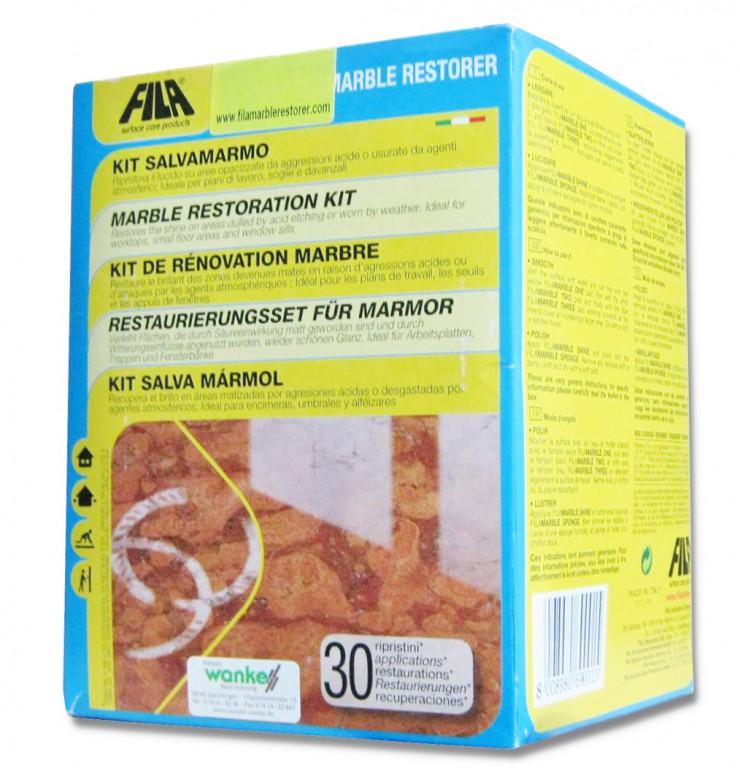 Fila Marble Restorer Kit Marmor-Renovierungs-Set